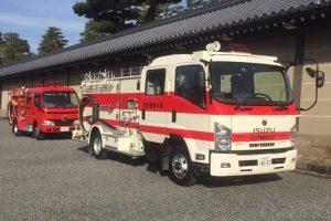 皇宮警察の消防車両