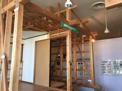 静岡県地震防災センター:新築木造住宅モデル