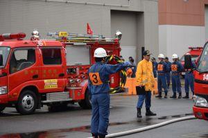 第20回調布市消防団ポンプ操法大会