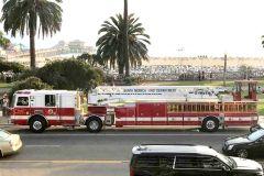 消防車@サンタモニカ