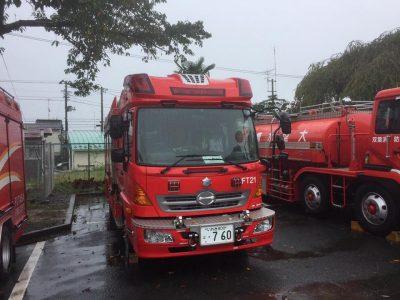 浪江町役場(消防車)
