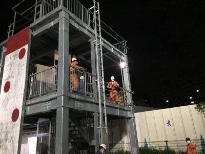結索訓練(消防団旅行.com)